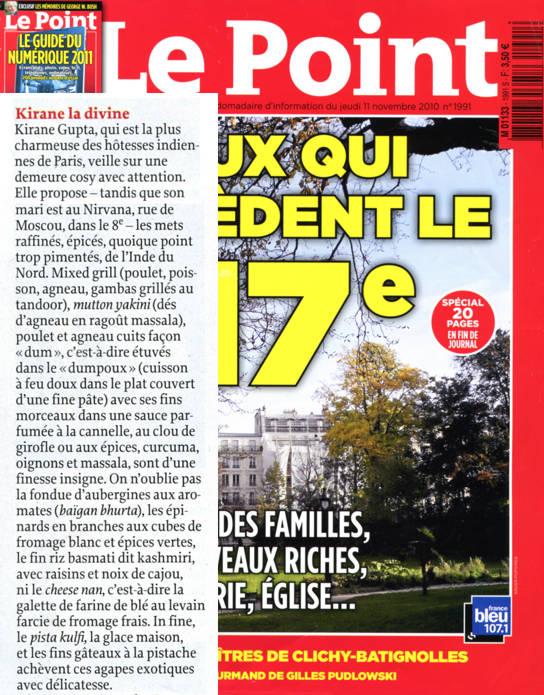 Kiranes dans le point spécial Paris 17